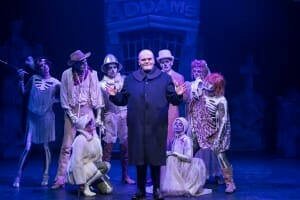 The Addams Family, Mercury Theater Chicago, Fester (Harter Clingman) and Ancestors