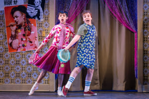 BillyElliot at Drury Lane Theatre Company - Cast of Billy Elliot - Nicholas Dantes as _Billy_ - Michael Harp as _Michael_ - Credit Brett Beiner - .jpg