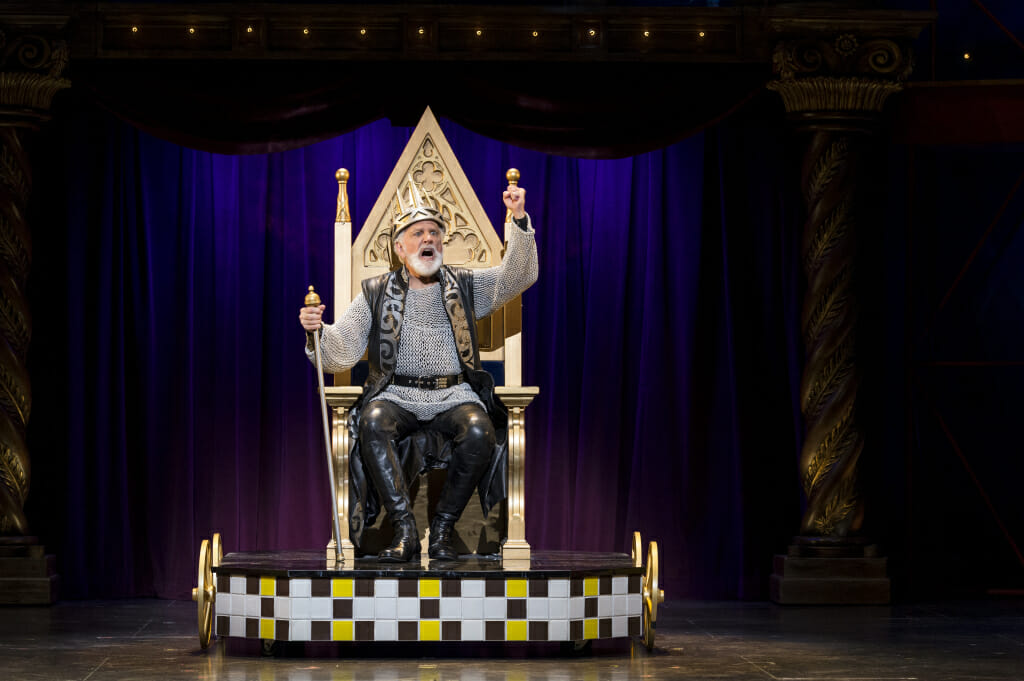 Pippin Setups__268 John Rubinstein as Charlemagne in the National Touring Production of PIPPIN