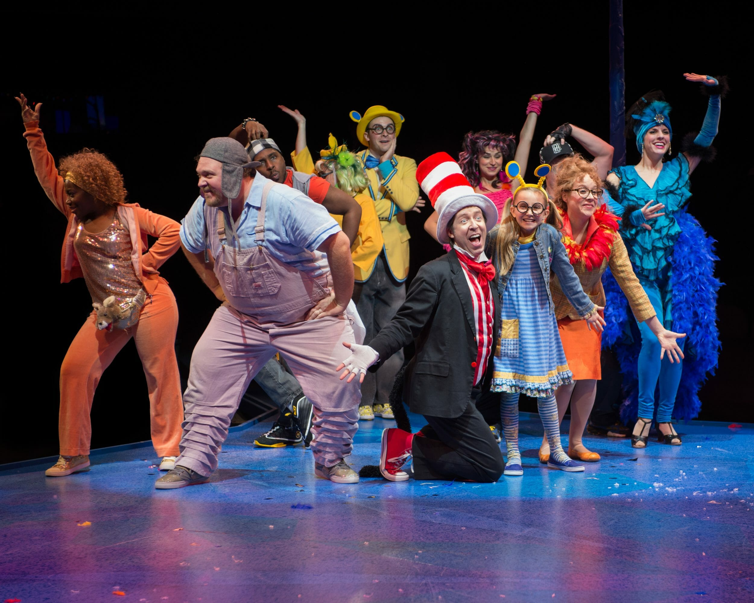 Cast of Seussical 2