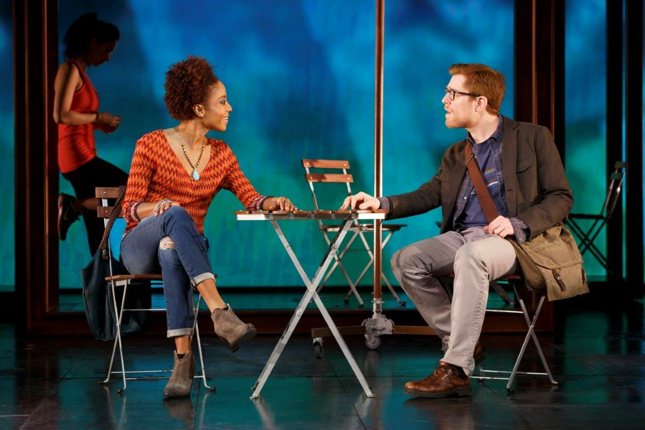 Tamyra Gray and Anthony Rapp