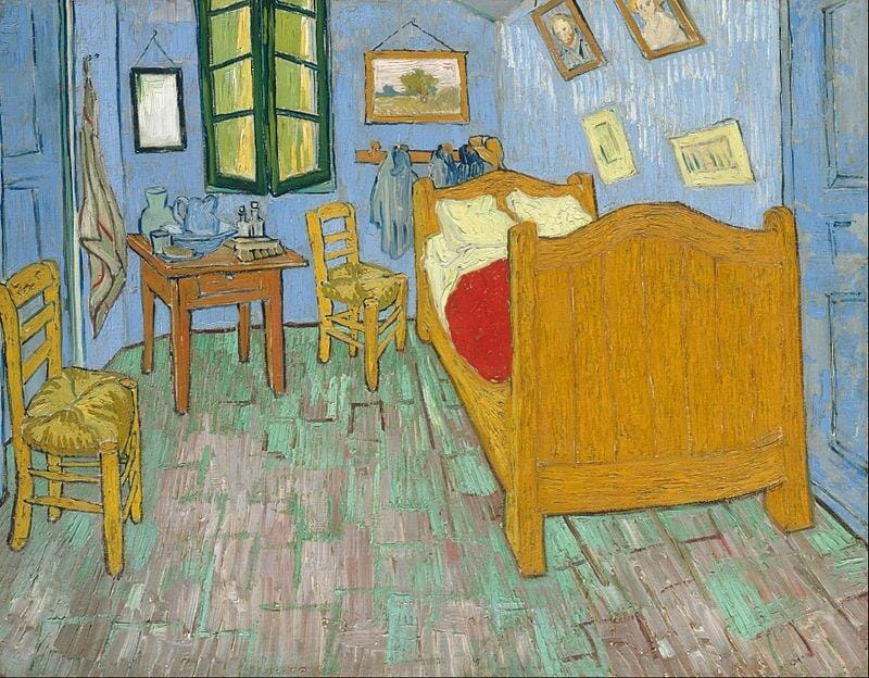 "Vincent van Gogh's ""The Bedroom"""