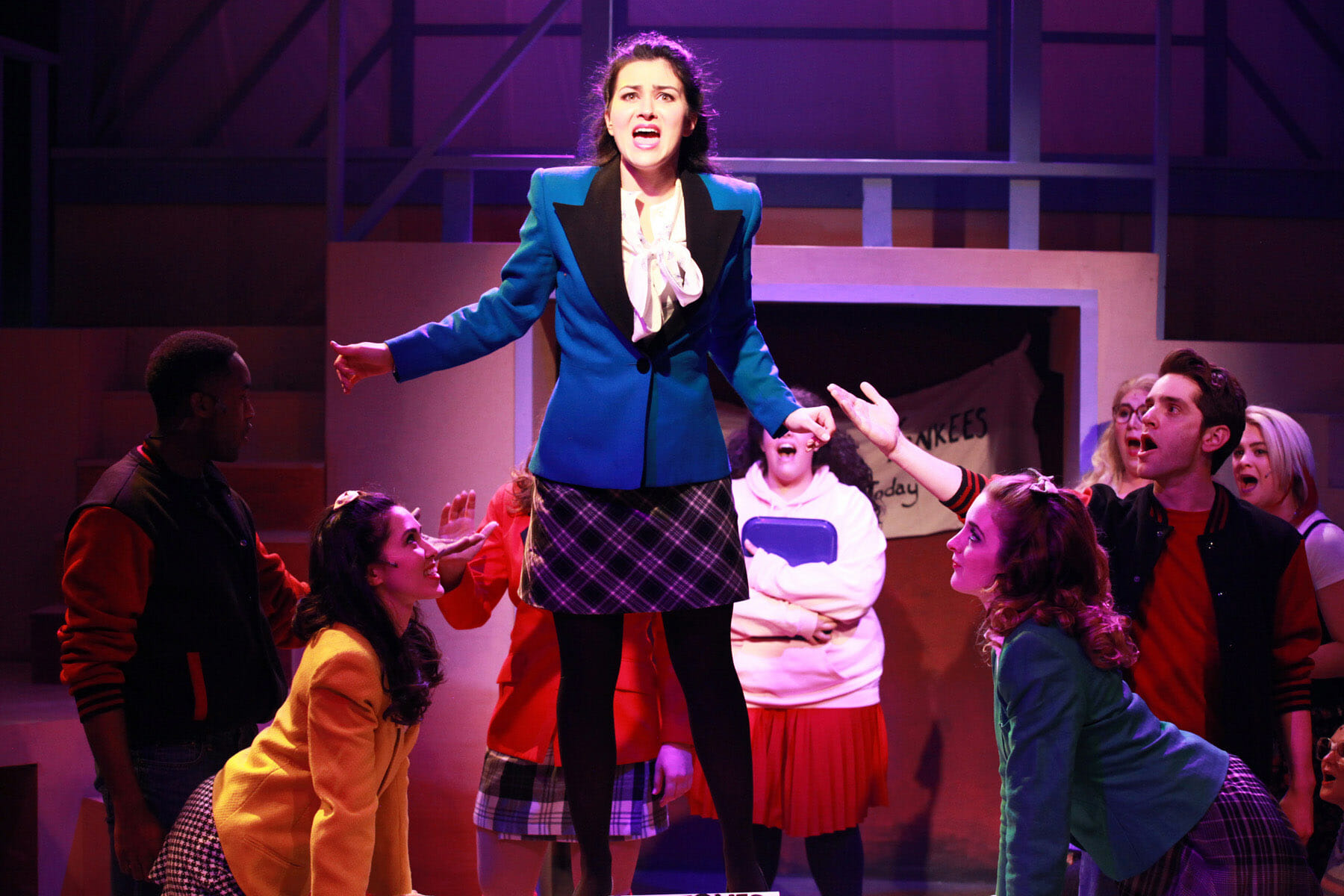 a brief review of heathers 1980s film veronica sawyer Heathers, the musical opens print email tweet details published: thursday, july 20 2017 heathers, the musical, the darkly delicious musical based on the 1980's cult movie heathers the musical is the story of veronica sawyer, a brainy.