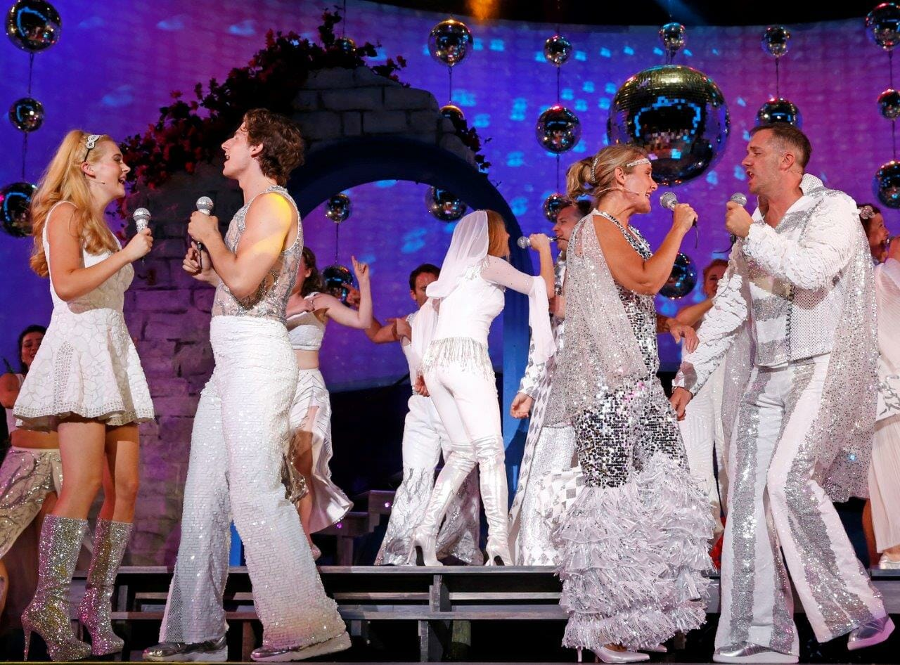 reasons abound to take a chance on paramount�s �mamma mia�