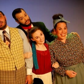 Try to remember the last time terrific professional theatre was free, and head out to see Quest's 'Fantasticks'