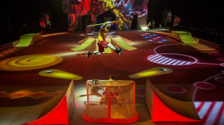 The iceman cometh, and so should patrons, to Cirque du Soliel's 'Crystal' at the Sears Centre