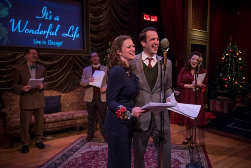 American Blues Theater's It's A Wonderful Life: Live in Chicago! brings a heavy dose of nostalgia and holiday magic