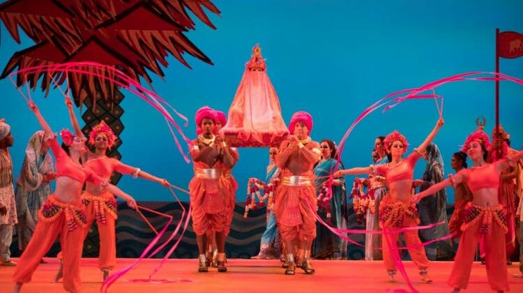 Music is first among the reasons for Lyric's current restaging of old favorite 'The Pearl Fishers'