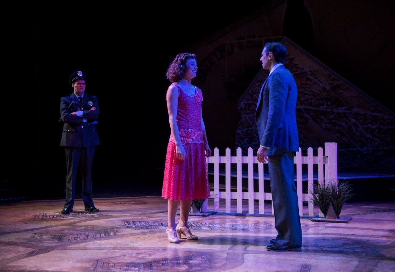 Buffalo Gals Be Damned Theatre At The Center S Wonderful Life Proves Mary And George Bailey