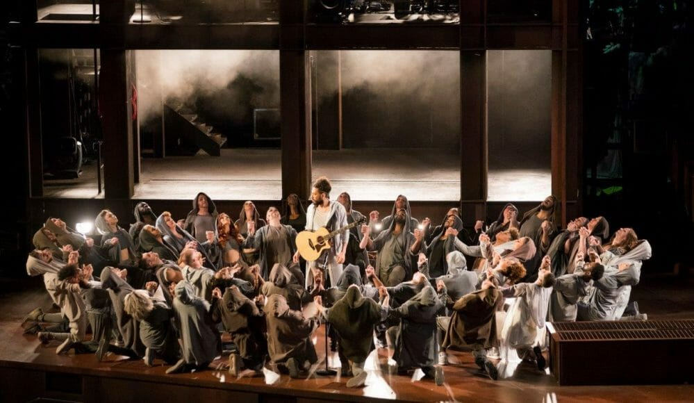 Everything's not just fine, but sublime, about Lyric Opera of Chicago's magnificently insightful production of 'Jesus Christ Superstar'