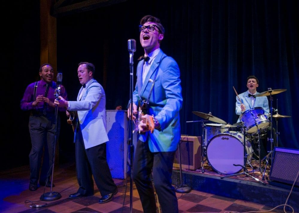 Zachary Stevenson channels Buddy Holley in American Blues Theatre's magnificent production of 'Buddy'