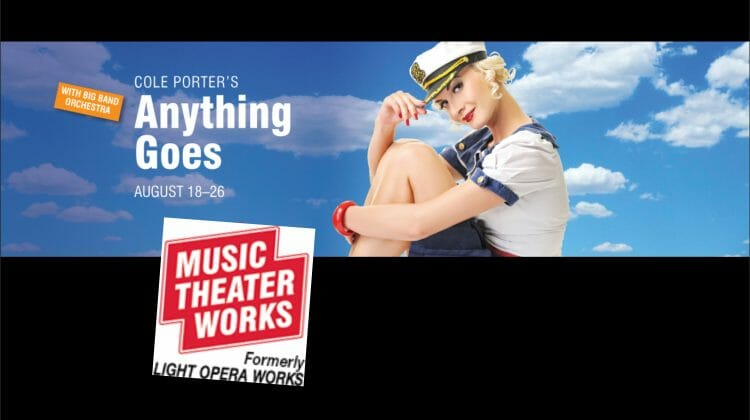Music Theater Works announces cast and creatives for its August production of 'Anything Goes'