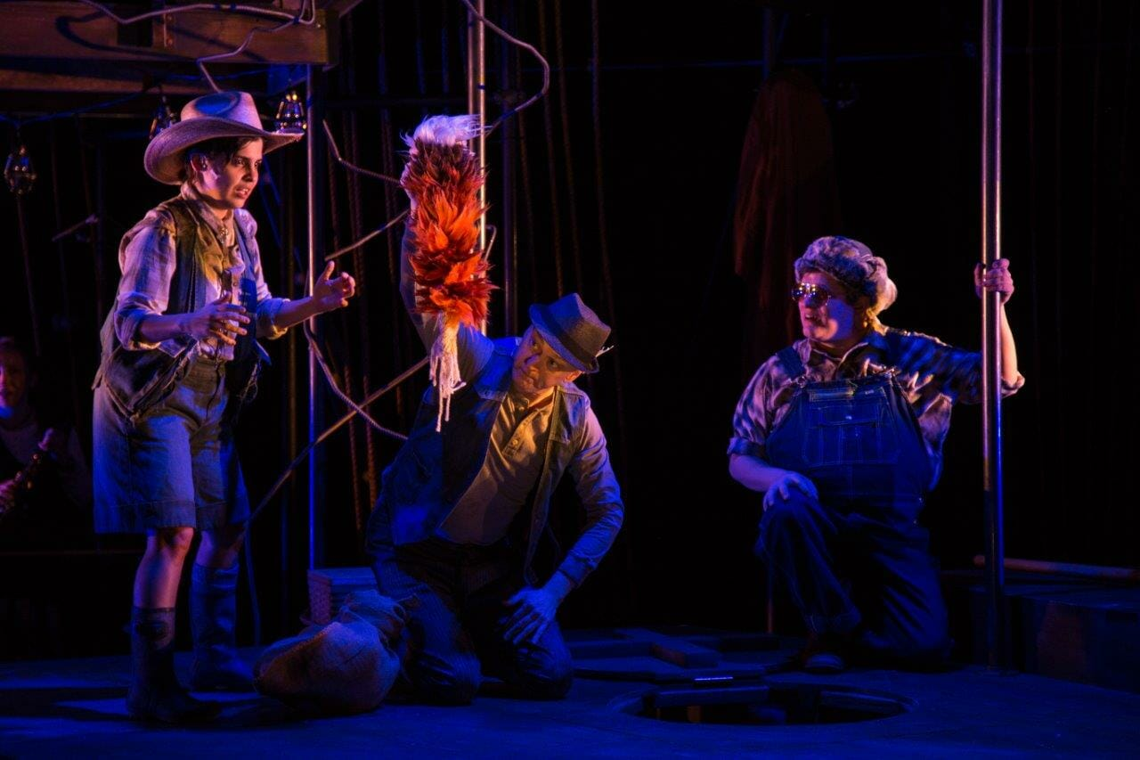 Emerald City's family production of 'Mr  Fox' at Victory