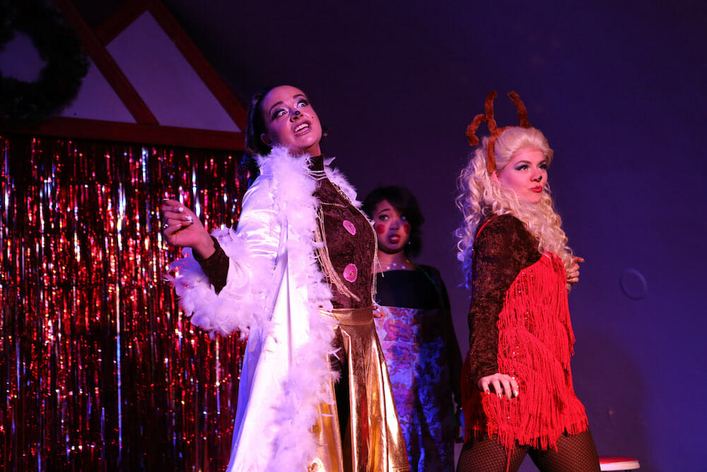 Hell in a Handbag s  Snowgirls the Musical  is exactly what you think it is fdf22f347228f